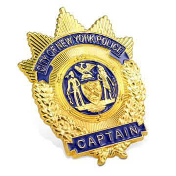 Bouton personnalisé bon marché, badge de police en métal (GZHY-BADGE-003)