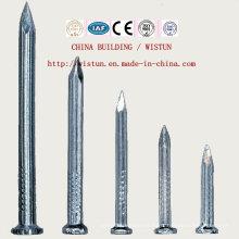 Clavos de bobina de uñas de hierro chino Clavos de arma de clavo de uñas concretas