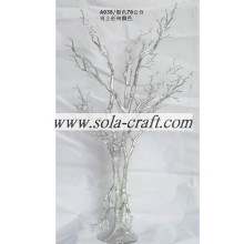 Chinese Professional for Artificial Dry Tree Branch Silver Crystal Wedding Table Tree Centerpieces For Christmas Decor supply to Luxembourg Supplier