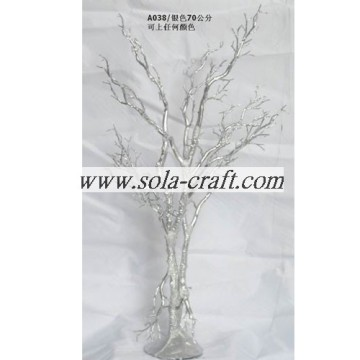 Silver Crystal Wedding Table Tree Centerpieces For Christmas Decor