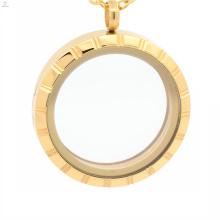 Conjunto de medalhão artificial barato, cúpula de medalhão, difusor medalhão de aço inoxidável de ouro