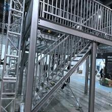 Стеллажи платформы слоя стальной конструкции с лестницей