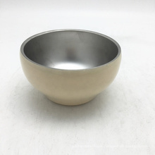 wholesale Korean style stainless steel double wall rice cooker bowl