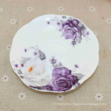 Customized Logo Porcelain Enameled High Quality Melamine Plates