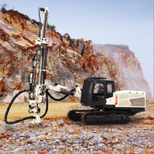 Surface Top-hammer Drill Rig