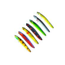 MNL004 señuelo de pesca de jerkbait minnow de plástico duro