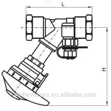 PN16 Двойной регулирующий клапан