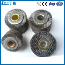anti-static dust removal metal wire rotary brush