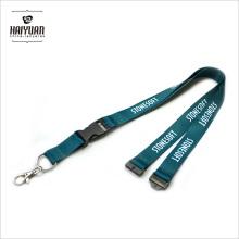 Beliebte und Nizza Polyester Badge Lanyard mit benutzerdefinierten Heat Transfer Logo Beide Seiten