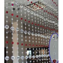 Hot vente accrocher des rideaux de perles de cristal de porte pour Hotel