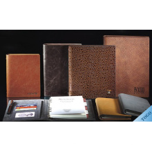 Plegable PU Cover Notebook Business Planner