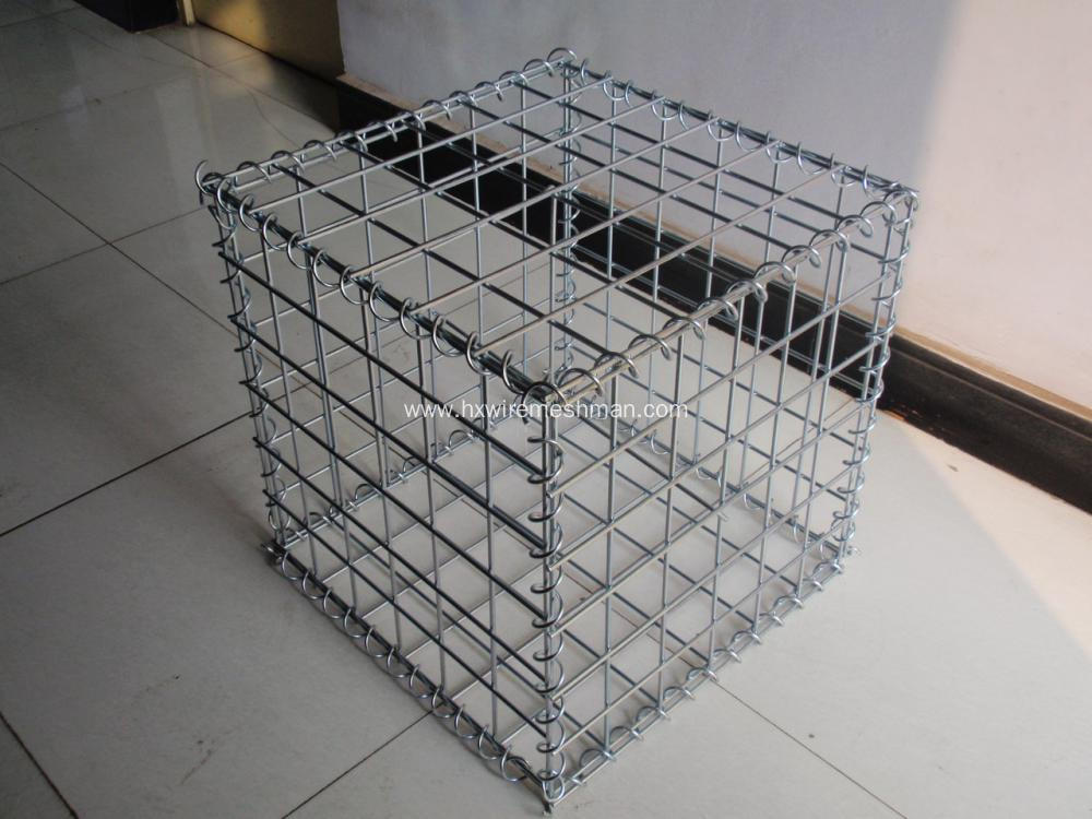 Hot Dipped Galvanized Welded Gabion Boxes
