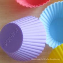 O bolo de silicone molde-pure color