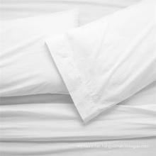 Fancy Poly cotton Material Bed Sheet Flat Sheet