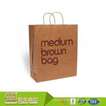 Alibaba Trade Assurance Custom Printing Kraft Paper Bag for Shopping