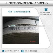 Cinturón plano de transmisión de cabello de larga duración para uso industrial
