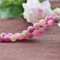 6 8 10 12mm Synthetische gemischte Farbe Wassermelone Turmalin Stein