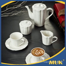 Eurohome supplier sales hotel elegant white tea cups and saucers
