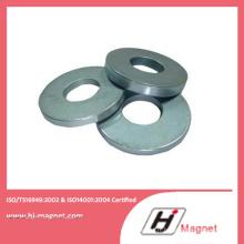 Aimant en anneau solide N35-52 néodyme haute puissance avec ISO9001 Ts16949