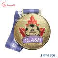 Personnalisé médaille d'alliage de Zinc en gros