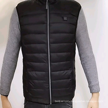 Battery Heated Puffer vest for Women 5v by Power Bank