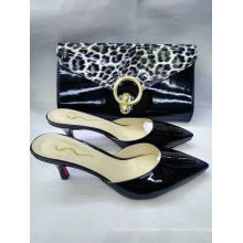 New Fashion High Heel Slippers and Fashion Handbags (G-16)