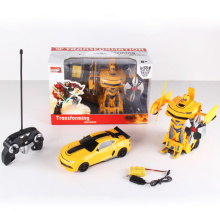 Control remoto de radio transformar robot de juguete de coche (h3386157)
