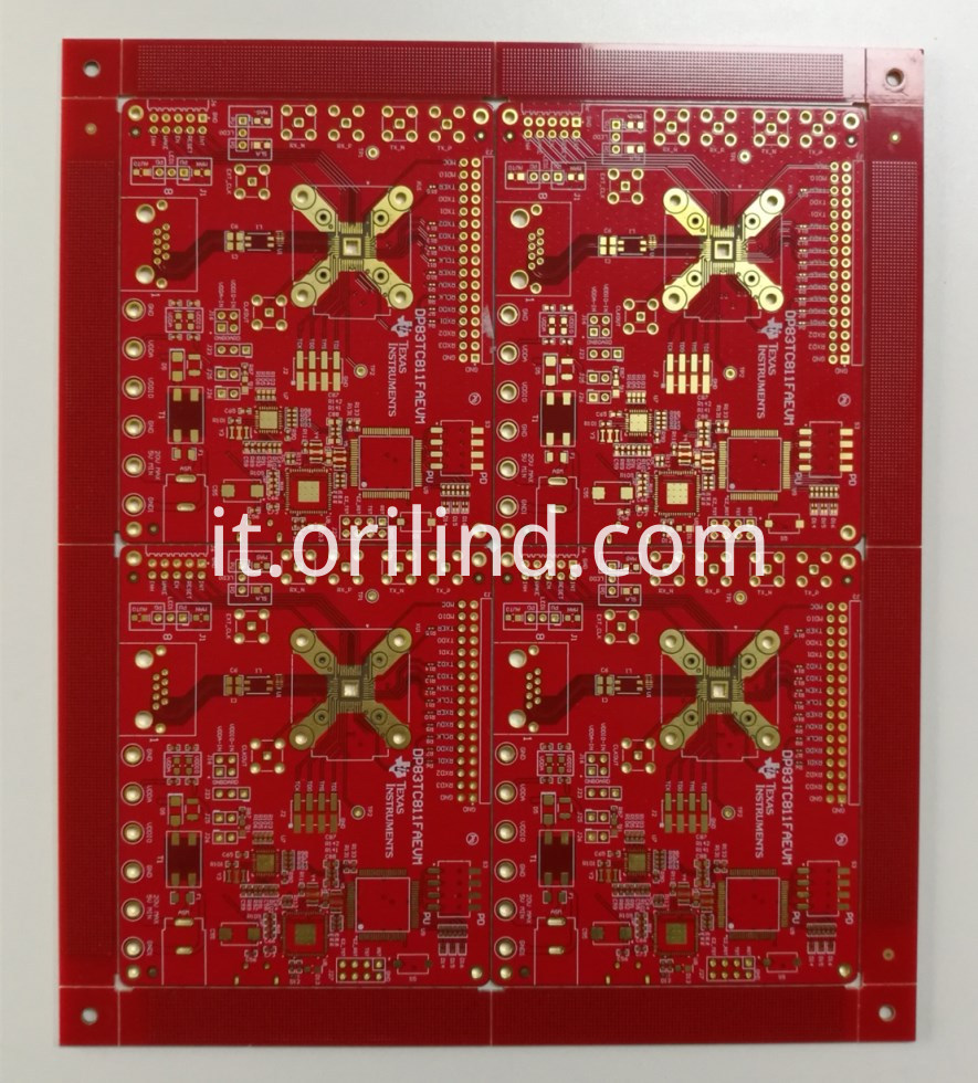 RED binding board