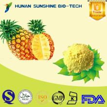 Свежие плоды растения ананаса порошок применяется в смеси напитков