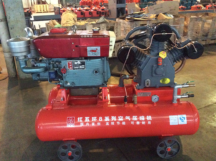 w3128 diesel mining air compressor