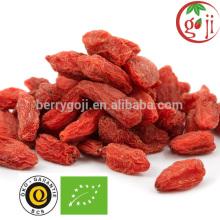Certificado orgânico goji berries bom para o sexo