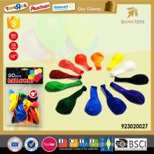 12 cores assorted borracha balão barato balão de ar quente preço