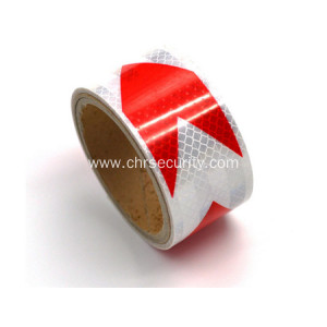 DOT-C2reflective sheeting white with redarrow
