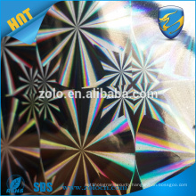 HOT NEW Custom 3d hologram foil for packaging