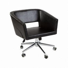 Office Task Chair, Made of Chromed Frame and PU/Fabric Materials, ODM/OEM Orders are Welcome