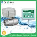 Válvula automática de cierre de agua para control de fugas de agua