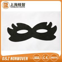 schwarzes Augenmaskenblatt Schmetterlingsart Augenmaske