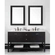 Wooden One Main Cabinet Mirrored Modern Bathroom Cabinet (JN-8819713D)