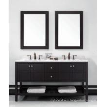 Деревянный один главный кабинет Зеркальный современный шкаф ванной комнаты (JN-8819713D)