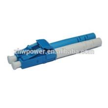 Connecteur LC APC / UPC, connecteur fibre SM MM, connecteur fibre optique SX DX