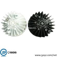 Shenzhen oem últimas populares mueren fundición de aluminio led resplandor tazas