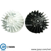 Shenzhen oem latest popular die cast aluminum led glow cups