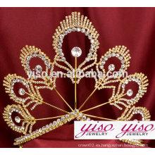 Trajes de lujo de encargo de la princesa del disfraz coronas y tiaras al por mayor