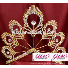luxury custom princess costume pageant wholesale crowns and tiaras