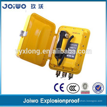 Highly quality explosion proof mining phone with public address