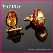 VAGULA Quality Gold French Cufflinks (HL10174)
