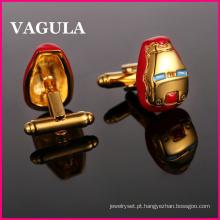 VAGULA qualidade ouro francês abotoaduras (HL10174)