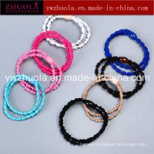 Красочные резиновые волосы Band для женщин
