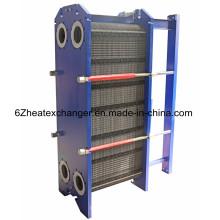Intercambiador de calor de placas con juntas para enfriamiento de aceite (igual a M15B / M15M)