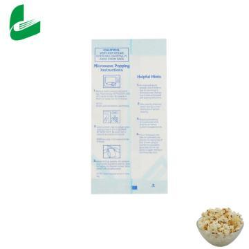 Design custom logo kraft food bag microwave popcorn packaging bags